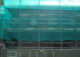 Aanzicht Assepoester vanaf het plein voor de Indische Waterlelies op 5 oktober