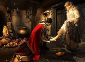 Een kijkje in het interieur van het sprookje - Afbeelding: Efteling