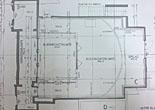 Plattegrond benedenverdieping met gaanderij en showruimte