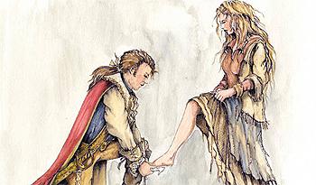 Assepoester en de prins, door Karel Willemen