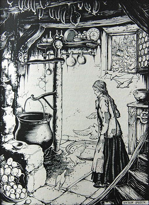 Assepoester In Het Sprookjesbos Tekeningen