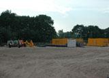 Bouwplaats Bosrijk op 8 juni 2008