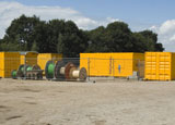 Bouwplaats Bosrijk op 20 juli 2008