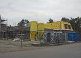 Bouwplaats Bosrijk op 21 december 2008