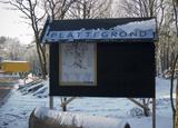 Bouwplaats Bosrijk op 9 januari 2009