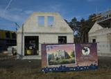 Bouwplaats Bosrijk op 25 januari 2009