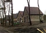 Bouwplaats Bosrijk op 10 februari 2009 (Foto: Joris Roes, Brabants Dagblad)