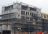 Bouwplaats Bosrijk op 27 februari 2009