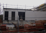 Bouwplaats Bosrijk op 27 maart 2009