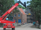Bouwplaats Bosrijk op 5 juli 2009