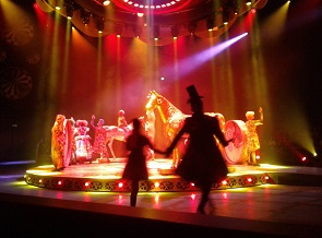 Op 1 september vond in het Efteling Theater de eerste try-ou plaats van de nieuwe voorstelling CARO