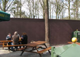 Bouwplaats op zondag 29 maart 2009
