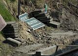 Bouwplaats op maandag 13 april 2009