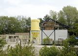 Bouwplaats op zaterdag 25 april 2009