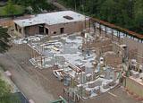 Bouwplaats op 17 mei 2009